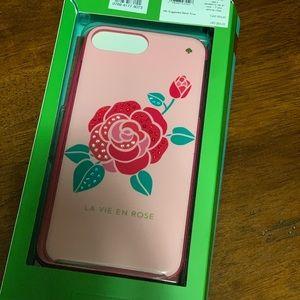 Kate Spade Rose IPhone Case